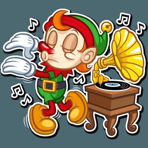 Christmas Elf - Sticker 18