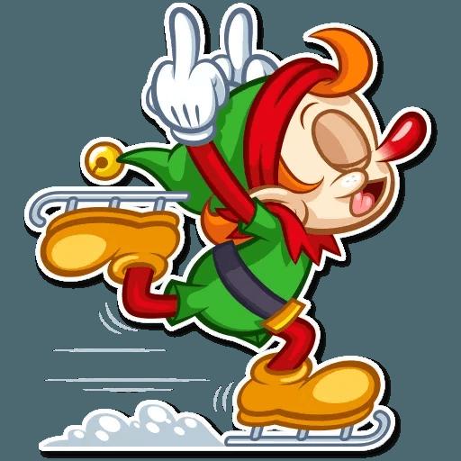 Christmas Elf - Sticker 19