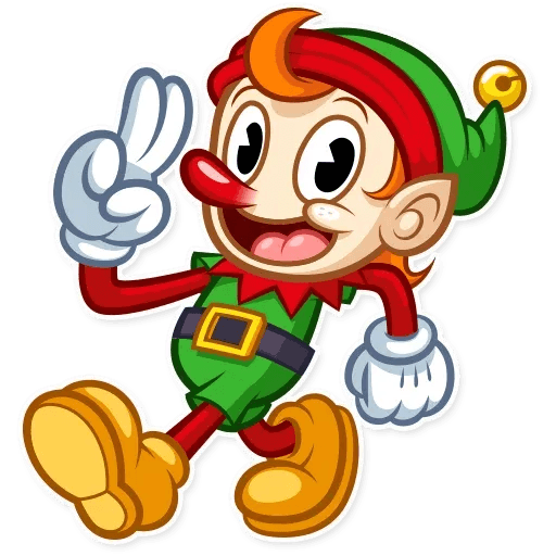 Christmas Elf - Sticker 5