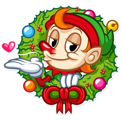 Christmas Elf - Sticker 2