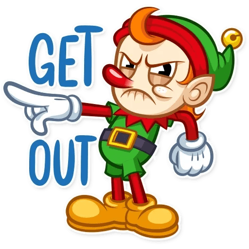 Christmas Elf - Sticker 7