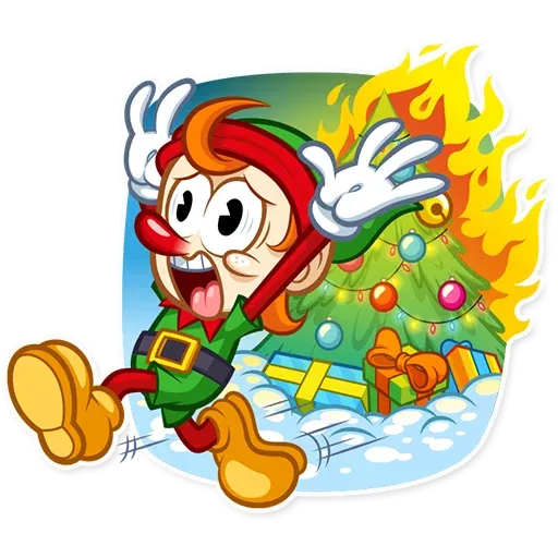 Christmas Elf - Sticker 24