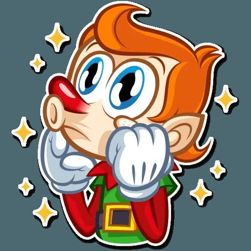 Christmas Elf - Sticker 8