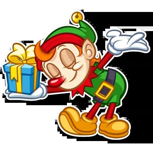 Christmas Elf - Sticker 15