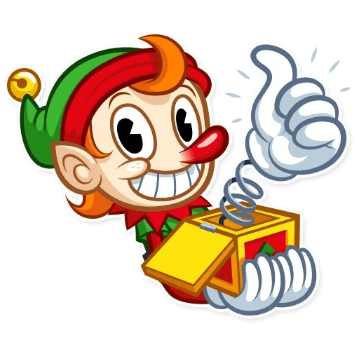 Christmas Elf - Sticker 1