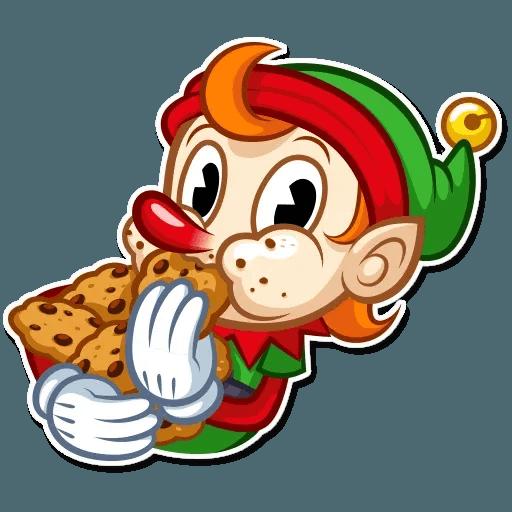 Christmas Elf - Sticker 22