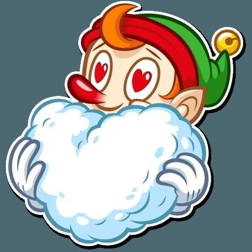 Christmas Elf - Sticker 6