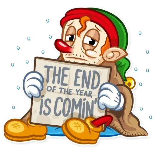 Christmas Elf - Sticker 21