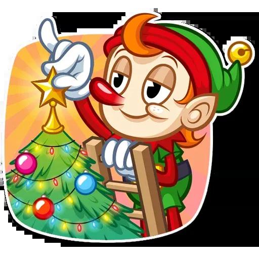 Christmas Elf - Sticker 11