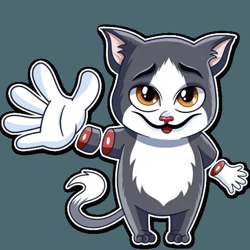 S.Dali_Cat - Sticker 5