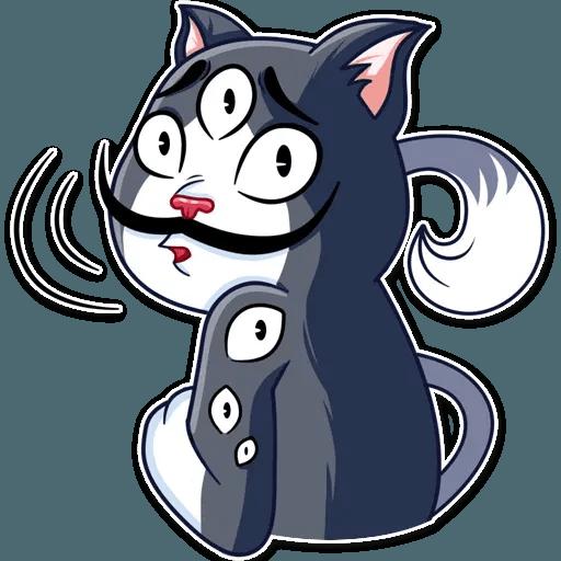 S.Dali_Cat - Sticker 11