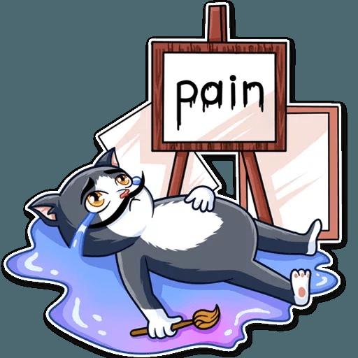 S.Dali_Cat - Sticker 21