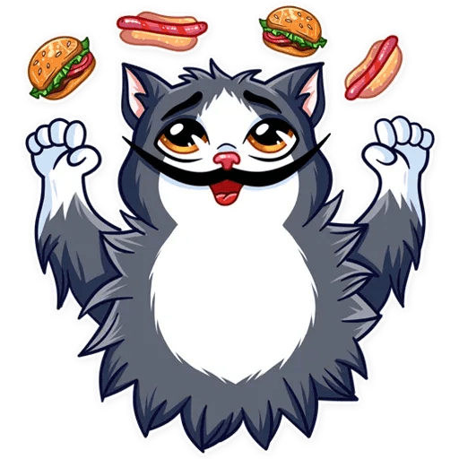 S.Dali_Cat - Sticker 13
