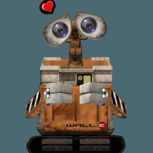 Wall-e - Sticker 19