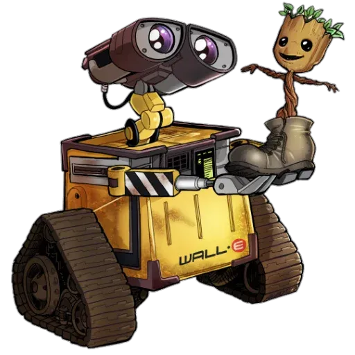 Wall-e - Sticker 27