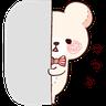 Bear 2 - Tray Sticker