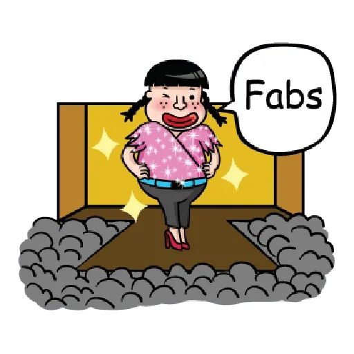 Fattylips Girl - Sticker 25