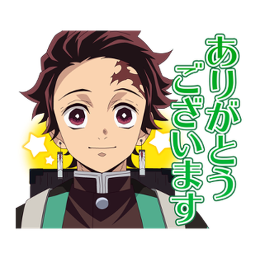 Kimetsu no Yaiba #1 - Tray Sticker