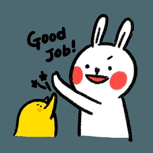 懶散兔2 - Sticker 17