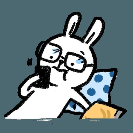 懶散兔2 - Sticker 18