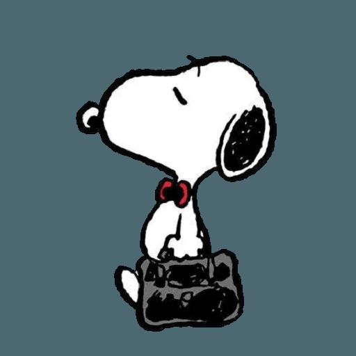 Snoopy 3 - Sticker 14