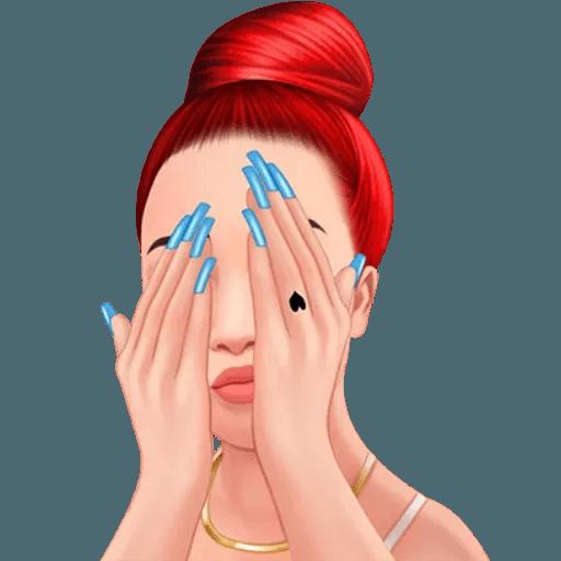 Bhad Bhabie - Danielle Bregoli - Sticker 16