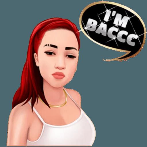 Bhad Bhabie - Danielle Bregoli - Sticker 25