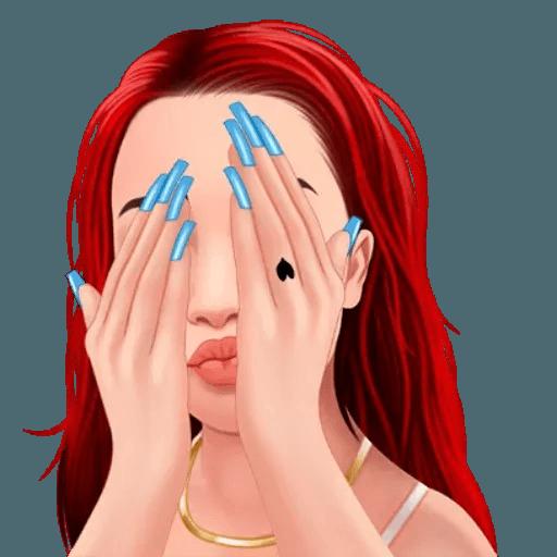 Bhad Bhabie - Danielle Bregoli - Sticker 17