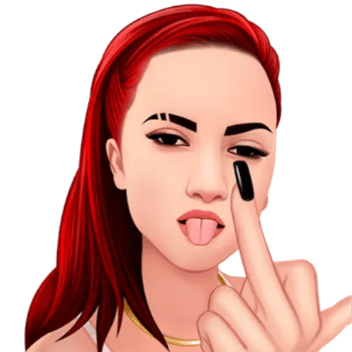 Bhad Bhabie - Danielle Bregoli - Sticker 4
