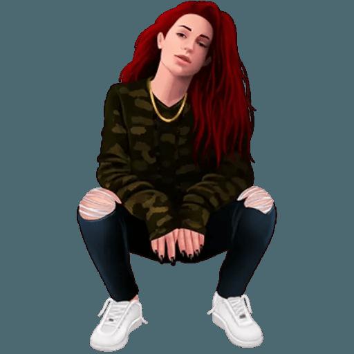 Bhad Bhabie - Danielle Bregoli - Sticker 30