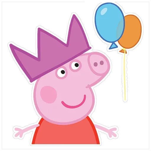 Peppa pig - Sticker 5