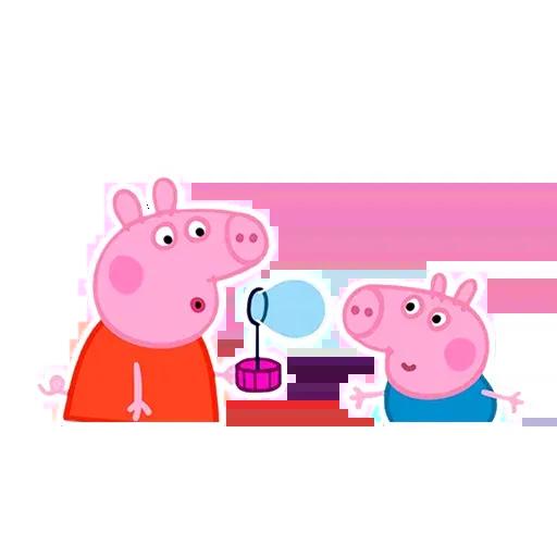 Peppa pig - Sticker 10