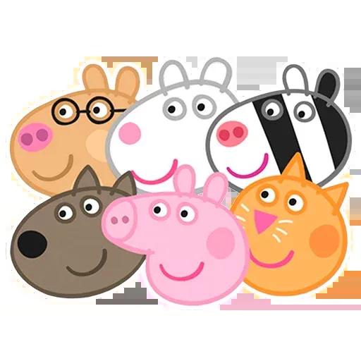 Peppa pig - Sticker 7