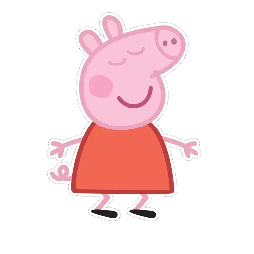Peppa pig - Sticker 1