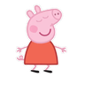 Peppa pig - Tray Sticker