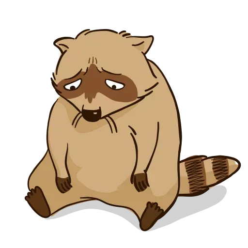 New Raccoon - Sticker 1