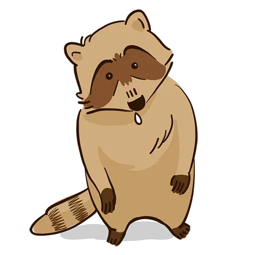New Raccoon - Sticker 2