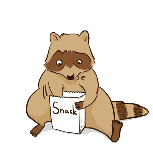 New Raccoon - Sticker 4