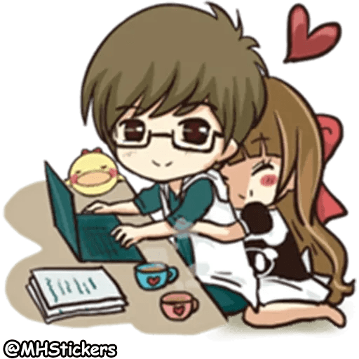 Sweet Couple - Sticker 2