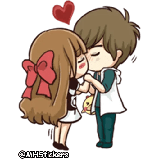 Sweet Couple - Sticker 1