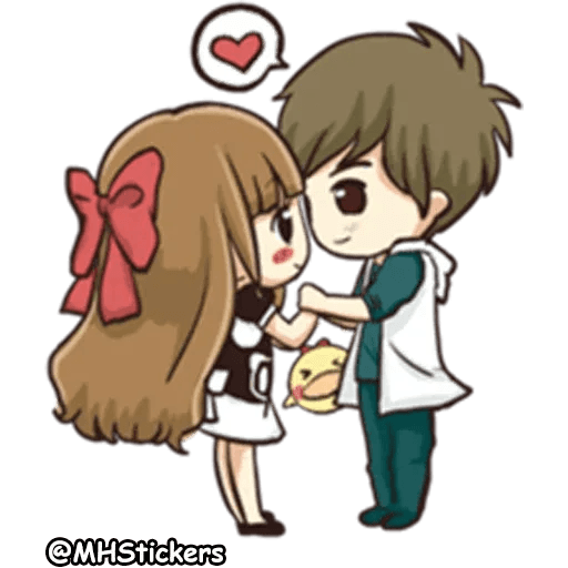 Sweet Couple - Sticker 26