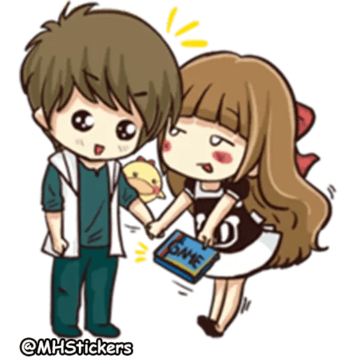 Sweet Couple - Sticker 20