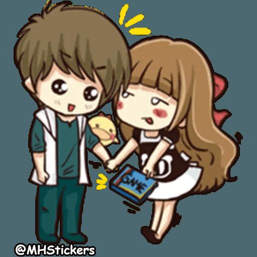 Sweet Couple - Sticker 20