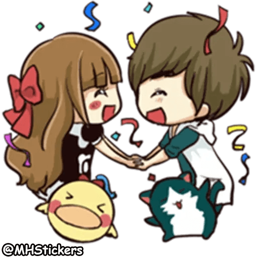 Sweet Couple - Sticker 10