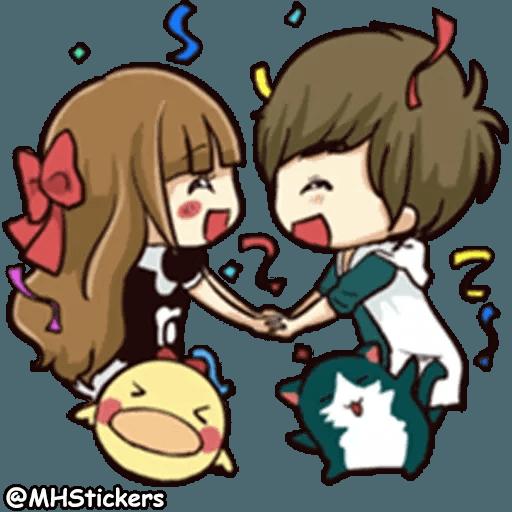 Sweet Couple - Sticker 10