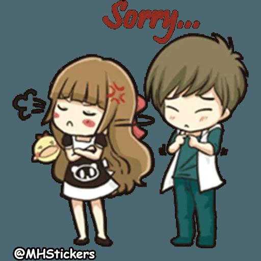 Sweet Couple - Sticker 23