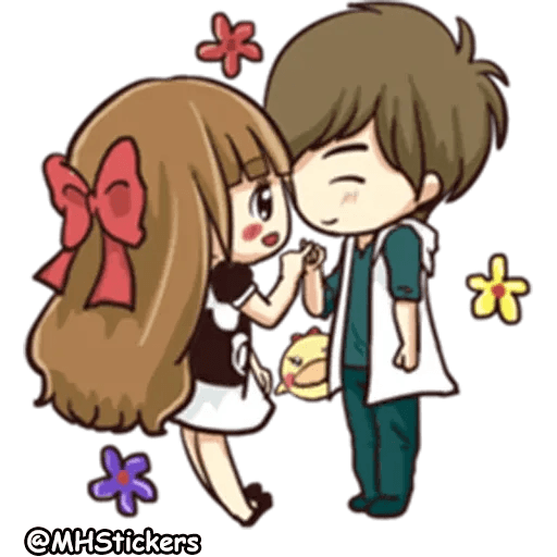 Sweet Couple - Sticker 27