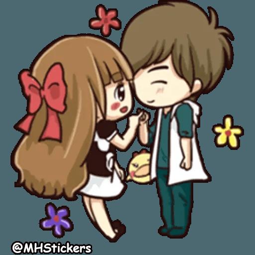 Sweet Couple - Sticker 27