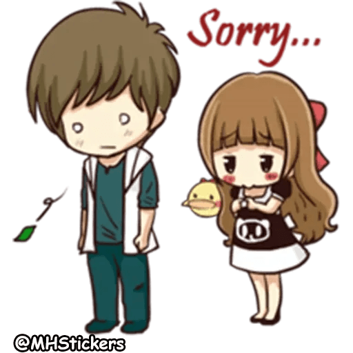 Sweet Couple - Sticker 22