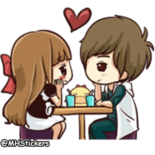 Sweet Couple - Sticker 19